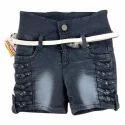 Girls Designer Denim Shorts