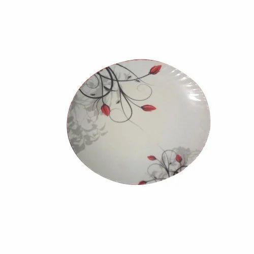 Ceramic White Round Dinner Plate  sc 1 st  IndiaMART & Ceramic White Round Dinner Plate Rs 1350 /dozen Goyal Bartan ...