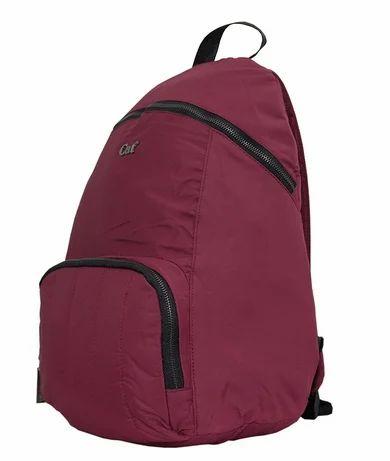 dd056c136ec4dd CAT The Haley Bag Laptop Backpack Bordeaux at Rs 2667  piece ...