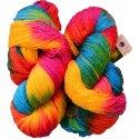 Multicolor Fancy Knitted Wool