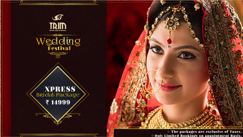 Express Pre Bridal Packages, Bridal Make Up Services