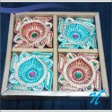 Clay Diya With Box - Set Of 4