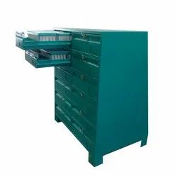 12 Drawer SS Color Coated Punch Die Cabinet