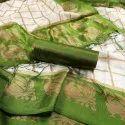 Mysore Silk With Jhalar Saree