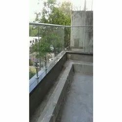 Stainless Steel Glass Balcony Railings