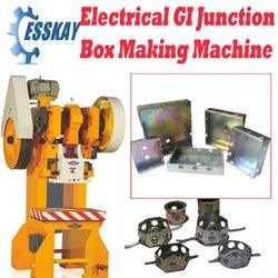 Electrical GI Junction Box Making Machine