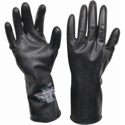 Medium Vinyl Butyl Hand Gloves Unique Safety Services