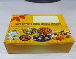 Single Piece Sweet Packaging Boxes