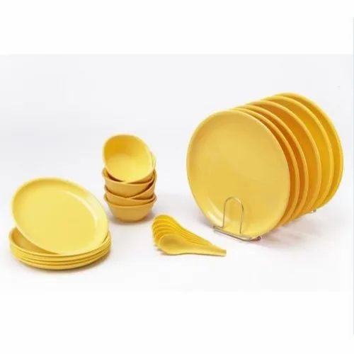 Signoraware Plastic 24 Pcs Round Dinner Set