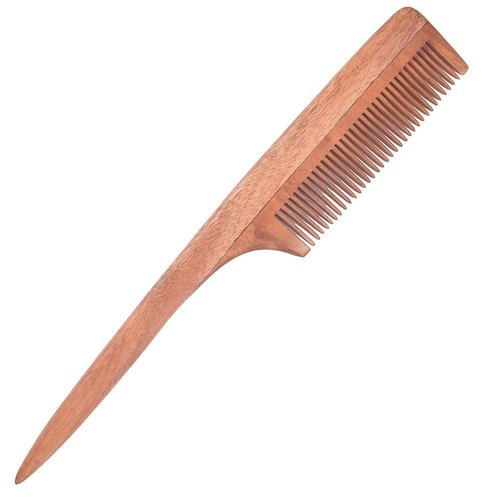 Cartking Neem Woodenwood Comb For Women Men Hair Growth Helps In Prevention Of Hair Fall Anti