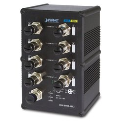 ISW-800T-M12 Industrial Fast Ethernet Switch with Wide Operating Temperature