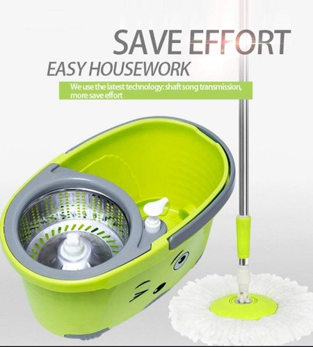 Sheep Mop for Home, 360 Degree Plastic Bucket Mop