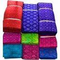 Pure Handloom Ikat Silk Fabric, Gsm: 100 Gsm