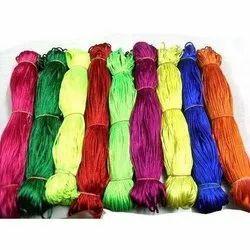 Silk Plain Garments Malai Dori Cords, Packaging Type: Roll