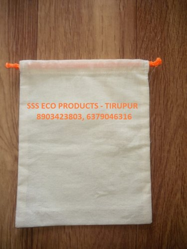 Half White Cotton SSS Wedding Gift Bags, For Gifting, Capacity: 1-2