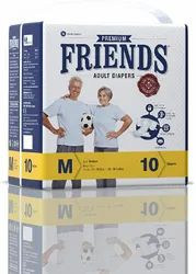 Friends Easy Adult Diapers - Medium
