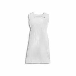 White Plain Disposable Apron, Packaging Type: Pakcet