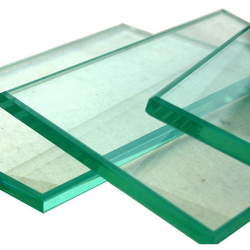 Transparent Plain Glass Toughened Glass, Shape: Flat, Thickness: 10.0 mm