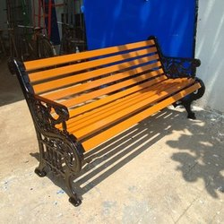 3 Seater Cast Iron Park Bench