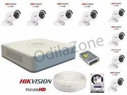 Standard 2 MP Hikvision 8 Bullet Full HD Camera, For Outdoor Use, Model Name/Number: OV-Hik5