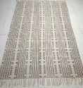 Hand Block Printed Durries Mudcloth Handloom Carpets Cotton Designer Rug