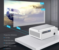 Lumens LED Smart HD Projector