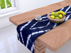 Cotton Indigo Dining  Table Runner
