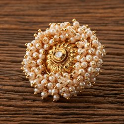 Antique Classic Ring with gold plating 22996