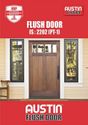 Austin Plywood Flush Door