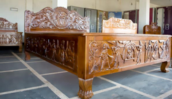 Bastar Wedding Art Bed