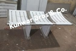 3 Seater Stainless Steel Bench