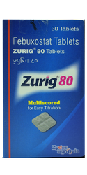 Zurig 80 Mg Tablets