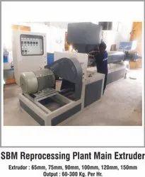 50-60 Hz Plastic Extrusion Machines, For Industrial
