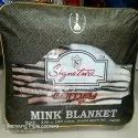 Signature Comfy Double Bed Mink Blanket Double Ply Reversible
