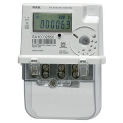 Saral Single Phase Energy Meter Make Secure