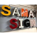 3D Acrylic Sign Board
