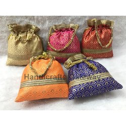 Exclusive Embroidery Potli Bags