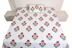 Cc-201 Bedsheet With 2 Pillow Cover