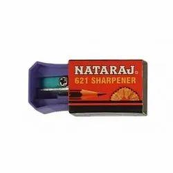 Violet Nataraj Pencil Sharpener, for Contoured body for firm grip