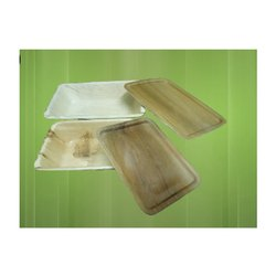 Wooden 1000 gm & 600 gm Rectangle Areca/ Plam Leaf Box/ Container