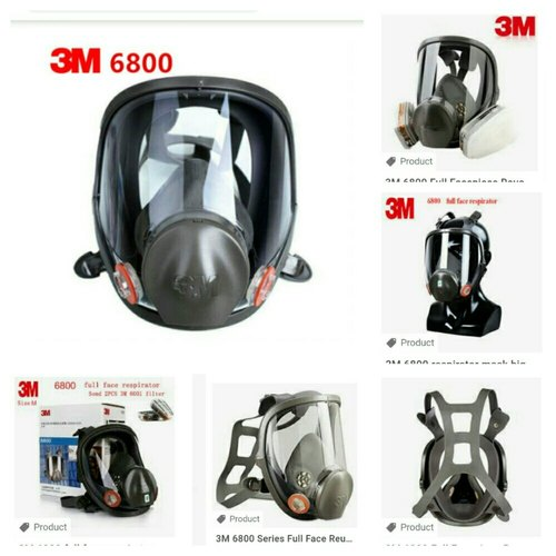 3m gas mask 6800