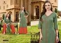 Ladies Rayon Kurti With Palazzo