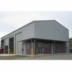 PVC Prefabricated Warehouse Shed, for Industrial