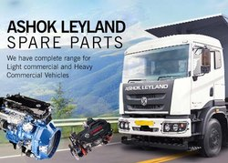 Ashok Leyland Spare parts, For Automotive, Vehicle Type/Model: Trucks And Buses