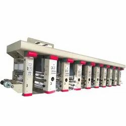 High Speed Rotogravure Printing Line