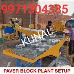 Paver Block Plant Setup