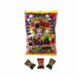 Candy Bomb Centre Filled Candies Poly Pack