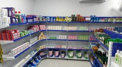 Krushi seva display store racks