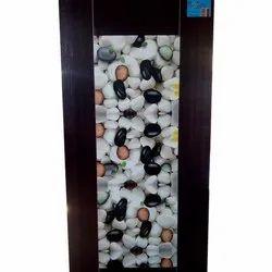 6-7 Feet Wood Digital Printed Wooden Membrane Door