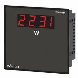 Digital Watt Meter, Model: 9611, for Laboratory